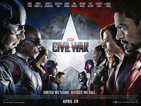 civil war poster